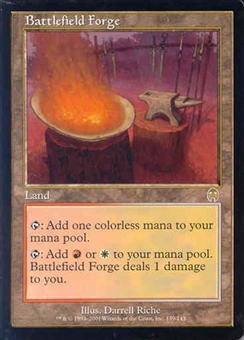 Magic the Gathering Apocalypse Single Battlefield Forge UNPLAYED (NM/MT)