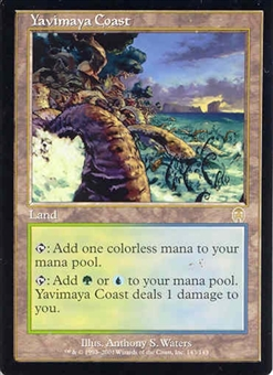 Magic the Gathering Apocalypse Single Yavimaya Coast - NEAR MINT (NM)