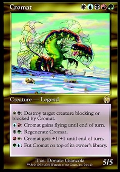 Magic the Gathering Apocalypse Single Cromat Foil