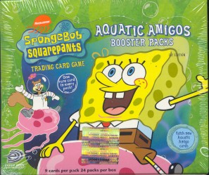 Upper Deck SpongeBob SquarePants Aquatic Amigos 24 Pack Booster Box