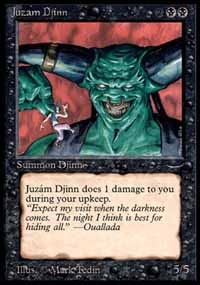 Magic the Gathering Arabian Nights Single Juzam Djinn UNPLAYED (NM/MT)