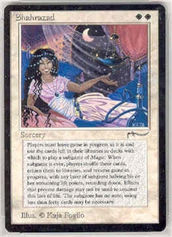 Magic the Gathering Arabian Nights Single Shahrazad - SLIGHT PLAY (SP)