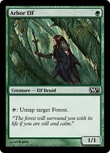 Magic the Gathering 2013 Single Arbor Elf Foil