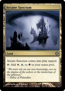 Magic the Gathering Shards of Alara Single Arcane Sanctum Foil