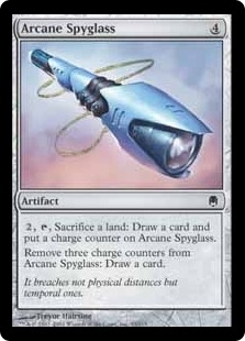 Magic the Gathering Darksteel Single Arcane Spyglass Foil