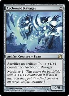 Magic the Gathering Modern Masters Single Arcbound Ravager - NEAR MINT (NM)