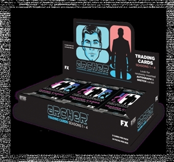 Archer Seasons 1-4 Trading Cards Pack (Cryptozoic 2013)