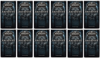 World of Warcraft Archives Booster Pack (Lot of 12)
