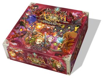 Arcadia Quest: Inferno Expansion (CMON) (Presell)