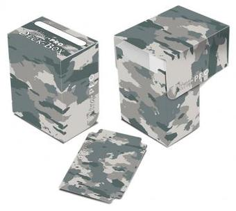 Ultra Pro Arctic Camouflage Full View Deck Box - Regular Price 2.99 !!!