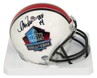 Andre Reed Autographed Buffalo Bills Hall of Fame Mini Football Helmet