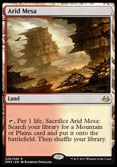 Magic the Gathering Modern Masters 2017 Single Arid Mesa - NEAR MINT (NM)
