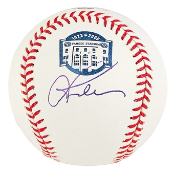Alex Rodriguez Autographed Yankee Stadium Final Season Official Baseball (MLB COA)