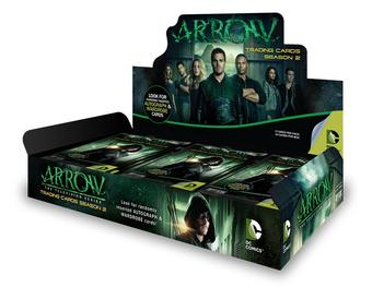 Arrow Season Two Trading Cards Box (Cryptozoic 2015) (Presell)