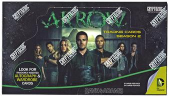 Arrow Season Two Trading Cards Box (Cryptozoic 2015)