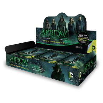 Arrow Season Three Trading Cards Box (Cryptozoic 2016) (Presell)
