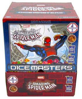 Marvel Dice Masters: The Amazing Spider-Man Gravity Feed Box (90 Ct.)
