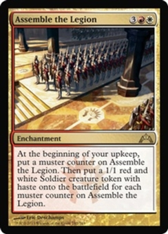 Magic the Gathering Gatecrash Single Assemble the Legion - NEAR MINT (NM)