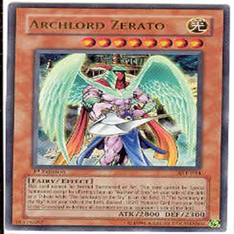 Yu-Gi-Oh Ancient Sanctuary Single 1st Edition Archlord Zerato Ultra Rare AST-034