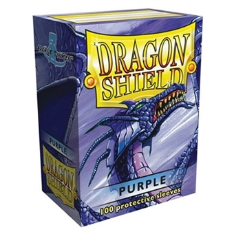 Dragon Shield Card Sleeves - Metallic Purple (100)