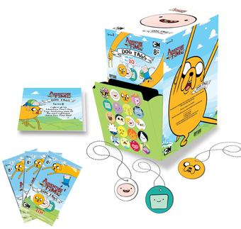 Adventure Time Card Wars Series 2 Dog Tag 24-Pack Retail Box (Cryptozoic)