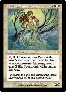 Magic the Gathering Invasion Single Atalya, Samite Master Foil