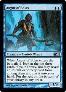 Magic the Gathering 2013 Single Augur of Bolas Foil