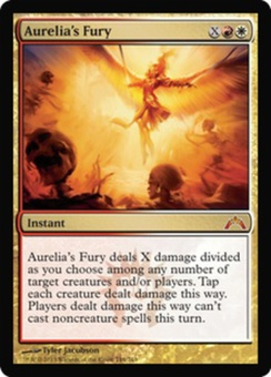 Magic the Gathering Gatecrash Single Aurelia's Fury Foil
