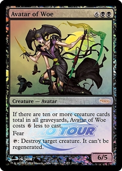 Magic the Gathering Promo Single Avatar of Woe (Pro Tour)