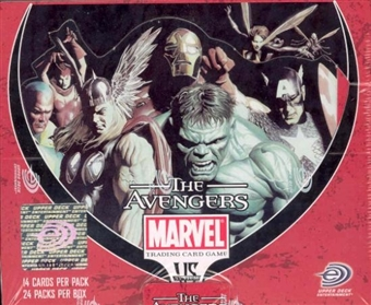 Vs System Marvel Avengers Booster Box