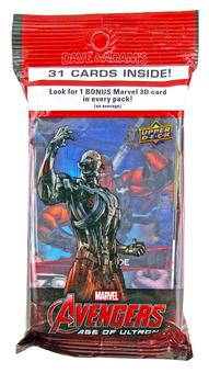 Marvel Avengers: Age of Ultron Value Pack (Upper Deck 2015) 30 Cards PLUS 1 Marvel 3D Card!