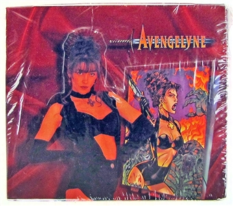 Avengelyne Chromium Trading Card Box (Maximum Press 1995)