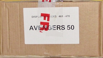 The Avengers Ultimate 50th Anniversary Trading Card 10-Box Case (Breygent 2012)
