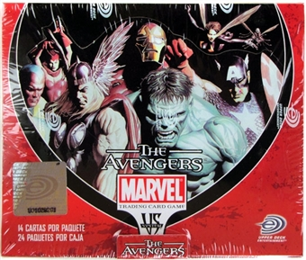 Vs System Marvel Avengers Booster Box - Spanish