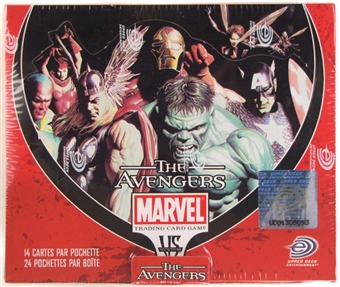 Vs System Marvel Avengers Booster Box - French