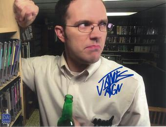 """James Rolfe 8x10 Autographed Angry Video Game Nerd """"AVGN"""" Angry Photo"""
