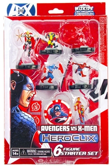 Marvel HeroClix: Avengers VS X-Men - Avengers Starter Set