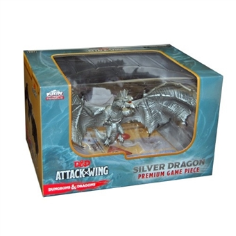 Dungeons & Dragons: Attack Wing - Premium Silver Dragon Figure