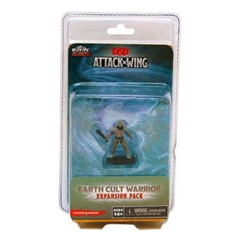 Dungeons & Dragons: Attack Wing - Earth Cult Warrior Expansion Pack