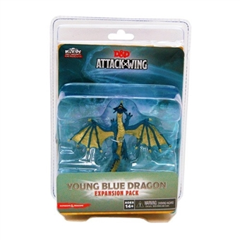 Dungeons & Dragons: Attack Wing - Young Blue Dragon Expansion Pack