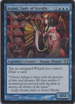 Magic the Gathering Champs of Kamigawa Single Azami, Lady of Scrolls Foil