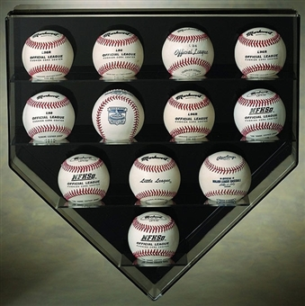 N-Case-It Twelve Baseball Display case
