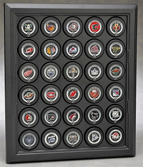 N-Case-It Executive Thirty Hockey Puck Display Case