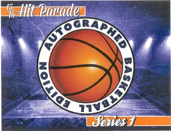 2015/16 Hit Parade Autographed Basketball Edition  Series 1  Chance for Signed Steph Curry & Klay Thompson Bal