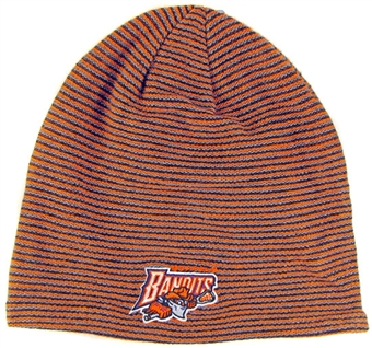 Buffalo Bandits Reebok Striped Cuffless Knit Hat (One Size Fits All)