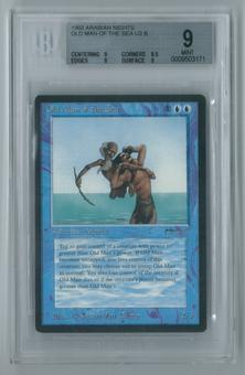 Magic the Gathering Arabian Nights Single Old Man of the Sea BGS 9 MINT (9, 8.5, 9, 9)