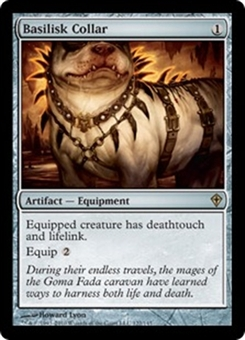 Magic the Gathering Worldwake Single Basilisk Collar Foil