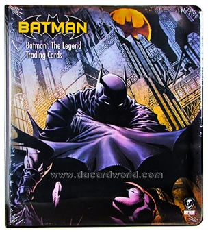 DC Comics Batman: The Legend Trading Card Album/Binder (Cryptozoic 2013)
