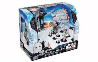 WOTC Star Wars Miniatures Battle of Hoth Scenario Pack Box