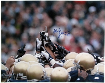 Mark Bavaro Autographed Notre Dame Football 16x20 Photo (Steiner COA)